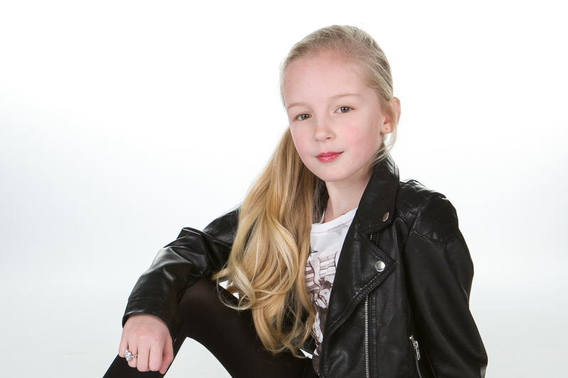 Photograph of girl at photoshoot party in Hildenborough