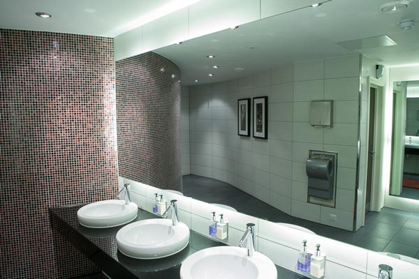 Bathroom refurbishment for hotel
