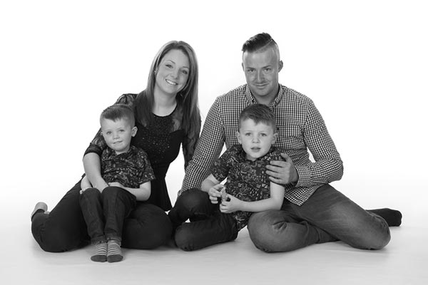 Family photoshoot near Tonbridge in Kent