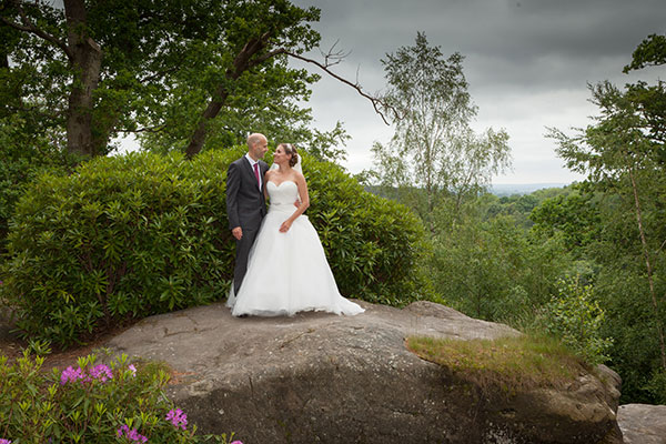 Wedding Photography at High Rocks in Tunbridge Wells